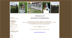Preview of gunnarsmo-hundpensionat-kennel.se